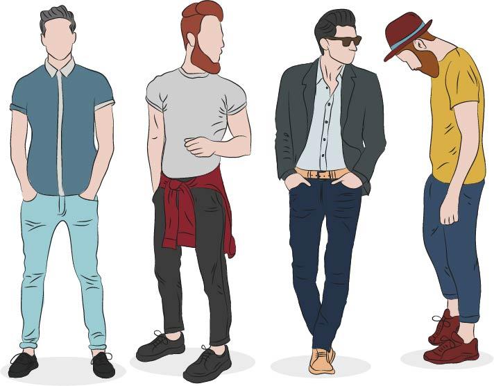 שבעולם האופנה שימוש בתוכנת האילוסטרייטור - ציור בגדים אופנה תוכנה ILLUSTRATOR