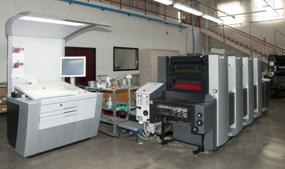 מכונות דפוס על זכוכית