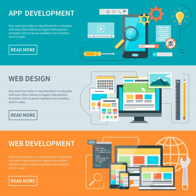 שילוב בין בניית אתרים לעיצוב גרפי