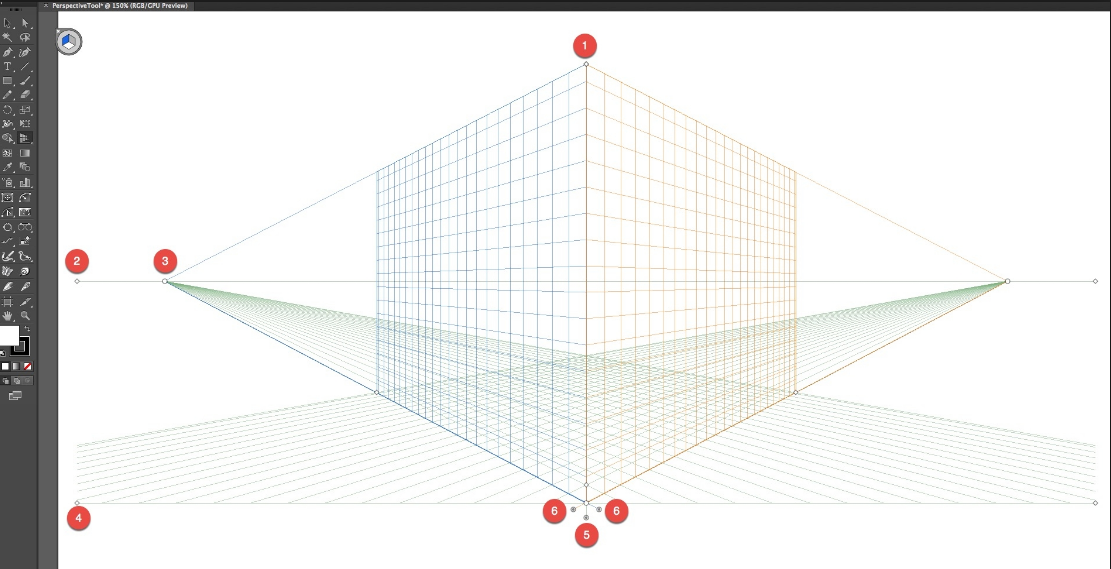 perspective grid illustrator