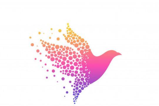ציפור ציור באילוסטרייטור