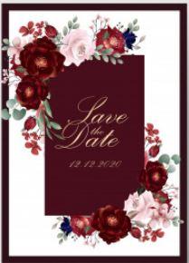 SAVE THE DATE דוגמה דוגמאות סייב דה דייט (1)