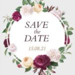 SAVE THE DATE דוגמה דוגמאות 663s
