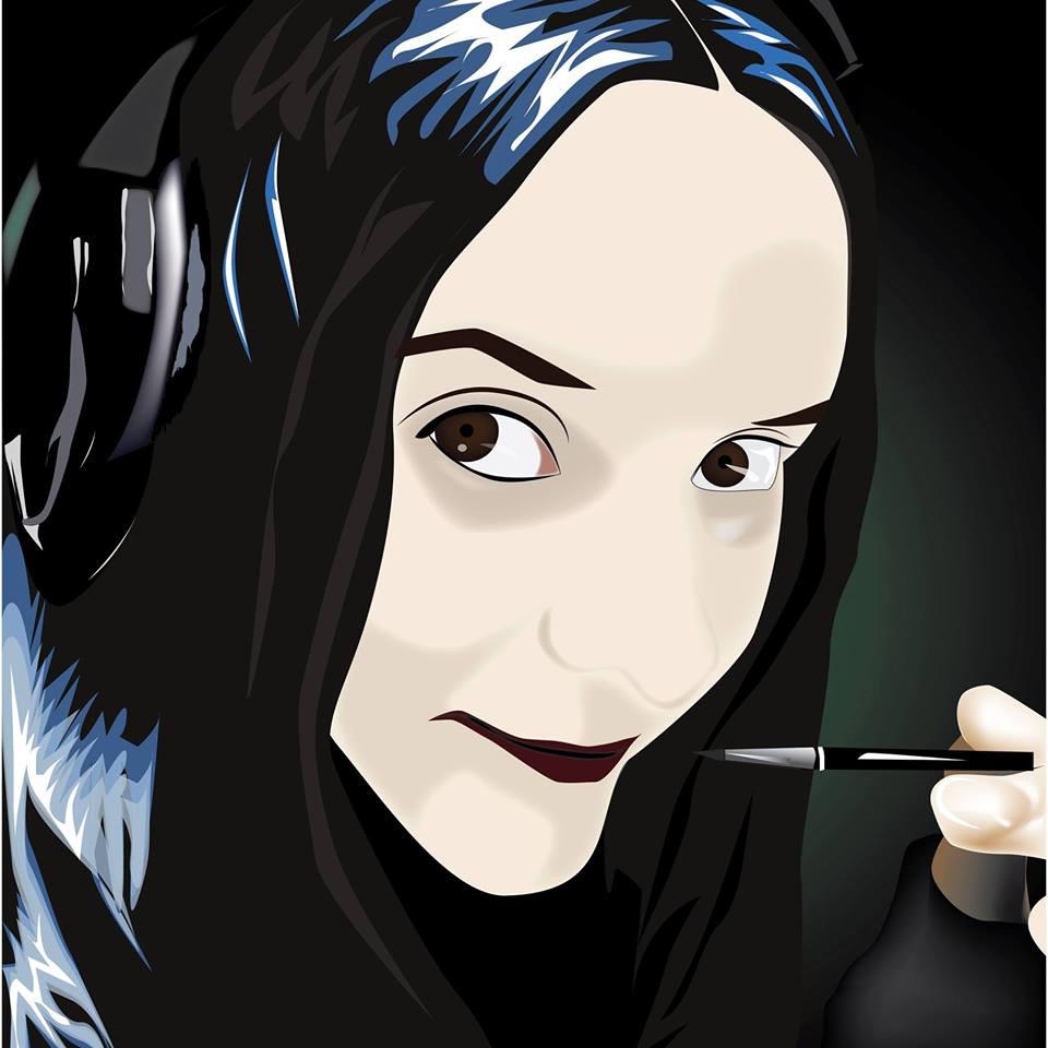 ציור דיגיטלי פנים