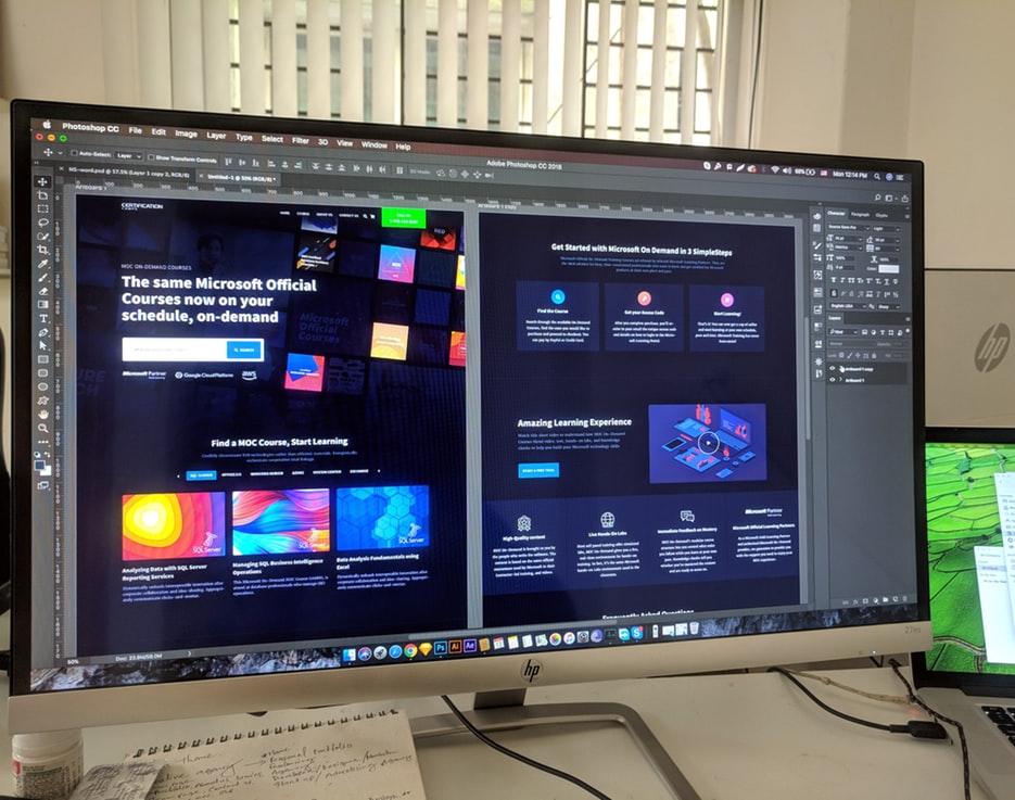 בניית אתרים ותקשורת חזותית