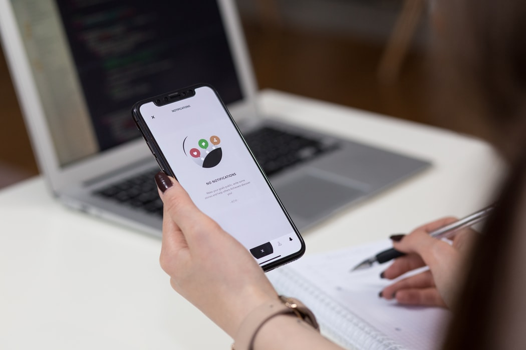 עיצוב בתוך תוכנת האפליקציות