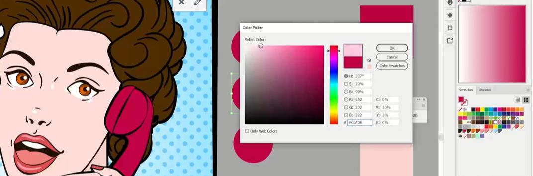 מדריך לימוד חינם טכניקות בציור דיגיטלי - גוונים ויצירת צבעים מדורגים